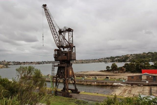 Crane, Cockatoo Island, Sydney Harbour