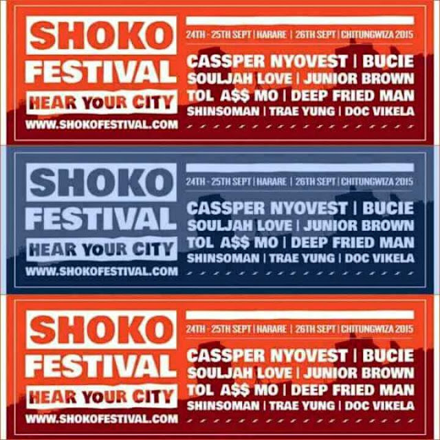 Shoko Festival is here and Local hiphop is well represented