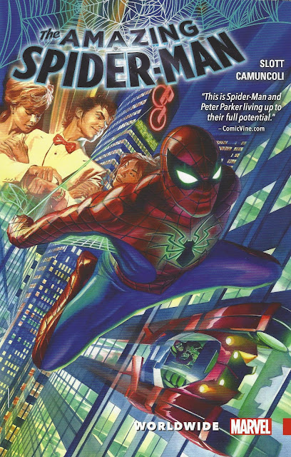 Amazing Spider-Man: Worldwide, v. 1 cover