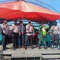 Brigadir Sony Pratama Amankan Penyaluran BST Tahap 3 dan 4 di Sungai Bela