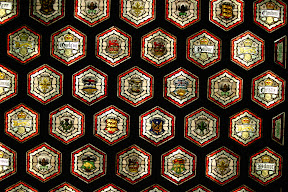Ceiling of the Senate lobby