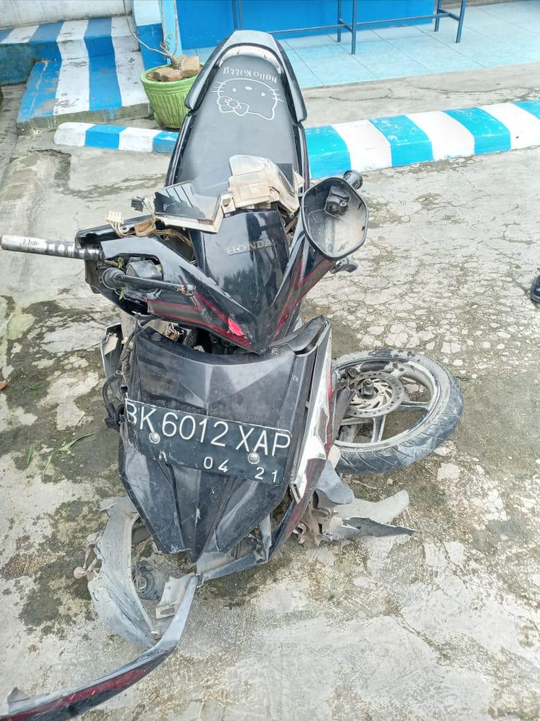 Korban Tabrak Lari, IRT Pengendara Sepeda Motor Meninggal di Tempat