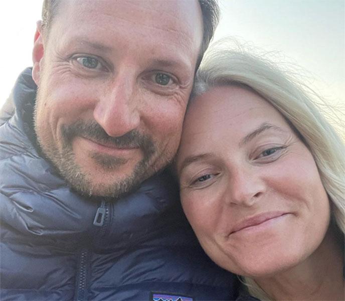Crown Princess Mette-Marit of Norway shares sweet selfie to celebrate Wedding Anniversary