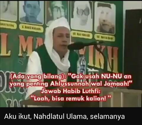Habib Luthfi bin Yahya sebagai Pengasuh, Pengerak dan Pembina NU