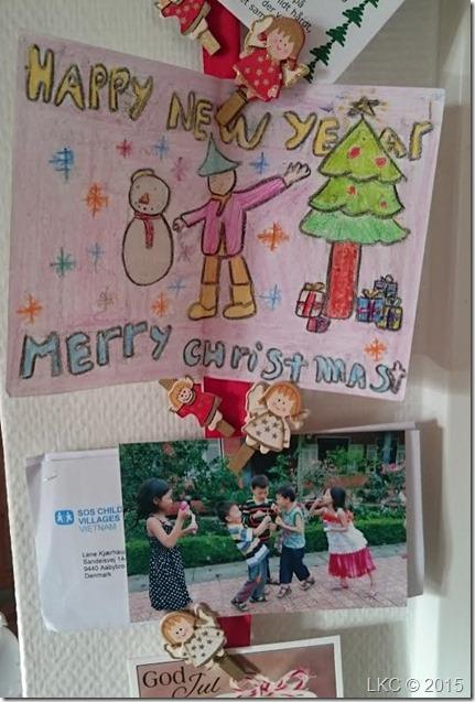 julekort Vietnam SOS børneby 010116