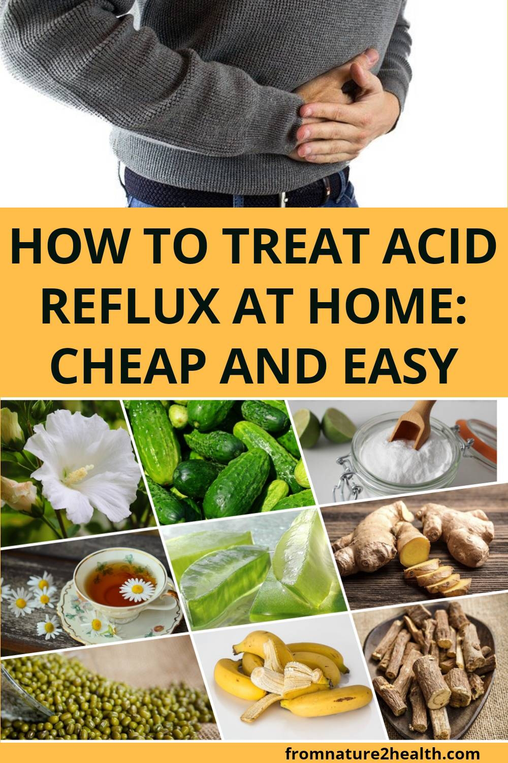 How to Treat Acid Reflux at Home: Cheap and Easy