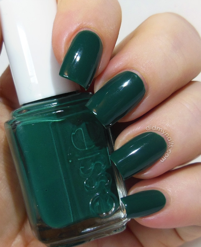 Black Nail Polish Color Names: Latest Nail Polish Colors For Dark Skin Essie Going