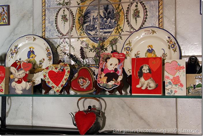 Kitchen Valentine Decor