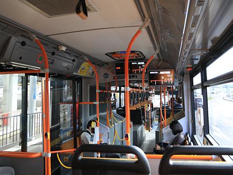 新潟交通 萬代橋線BRT 連接バス ・・・3 車内