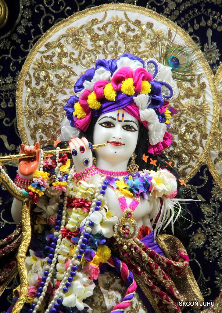 ISKCON Juhu Sringar Deity Darshan on 24th Oct 2016 (13)