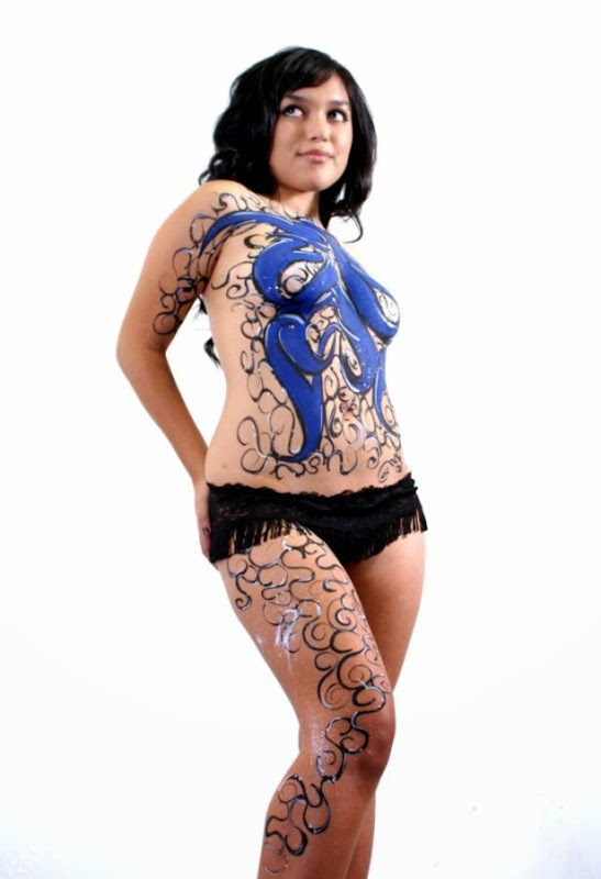 sparkle 1 female body art  Flickr   Photo Sharing