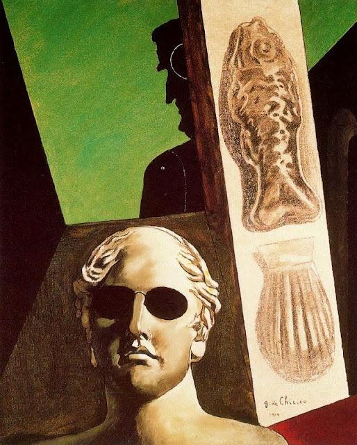 Giorgio de Chirico - Portrait of Guillaume Apollinaire, 1914