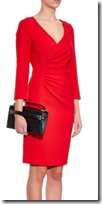 Diane von Furstenberg Eliana ceramic red dress