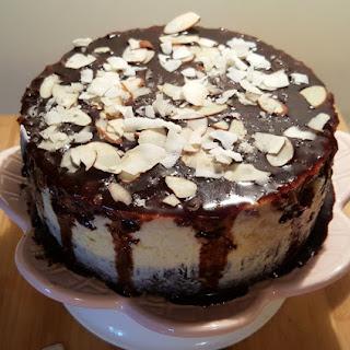 Pressure Cooker Coconut Almond Fudge Cheesecake Recipe