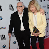 OIC - ENTSIMAGES.COM - Peter Blake and Chrissy Wilson at the South Bank Sky Arts Awards in London 7th June 2015 Photo Mobis Photos/OIC 0203 174 1069