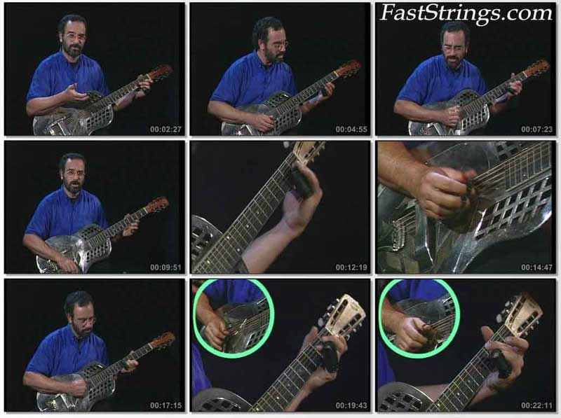 Bob Brozman: Learn To Play Bottleneck Blues Guitar Vol. 2 - Advanced Technique