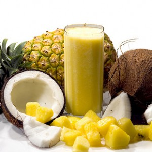 Virgin Pineapple Coconut Smoothie Recipe
