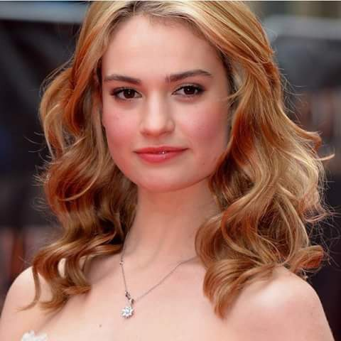 Lily James Awesome, Stylish, Cute, Sweet, Georgies, Lovely, images