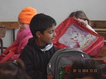 Podpora vzdělávání a distribuce školních pomůcek dětem v Sýrii. Foto: archiv Člověka v tísni