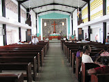 View of sanctuary