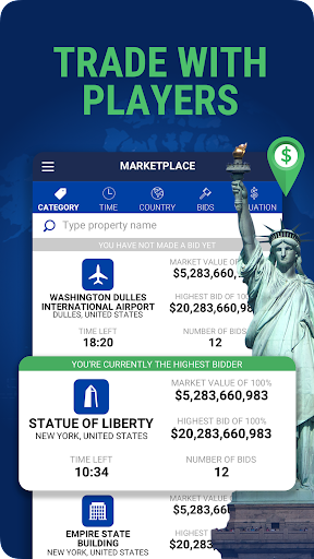 Landlord Tycoon - Money Investing Idle with GPS 2.2 screenshots 4
