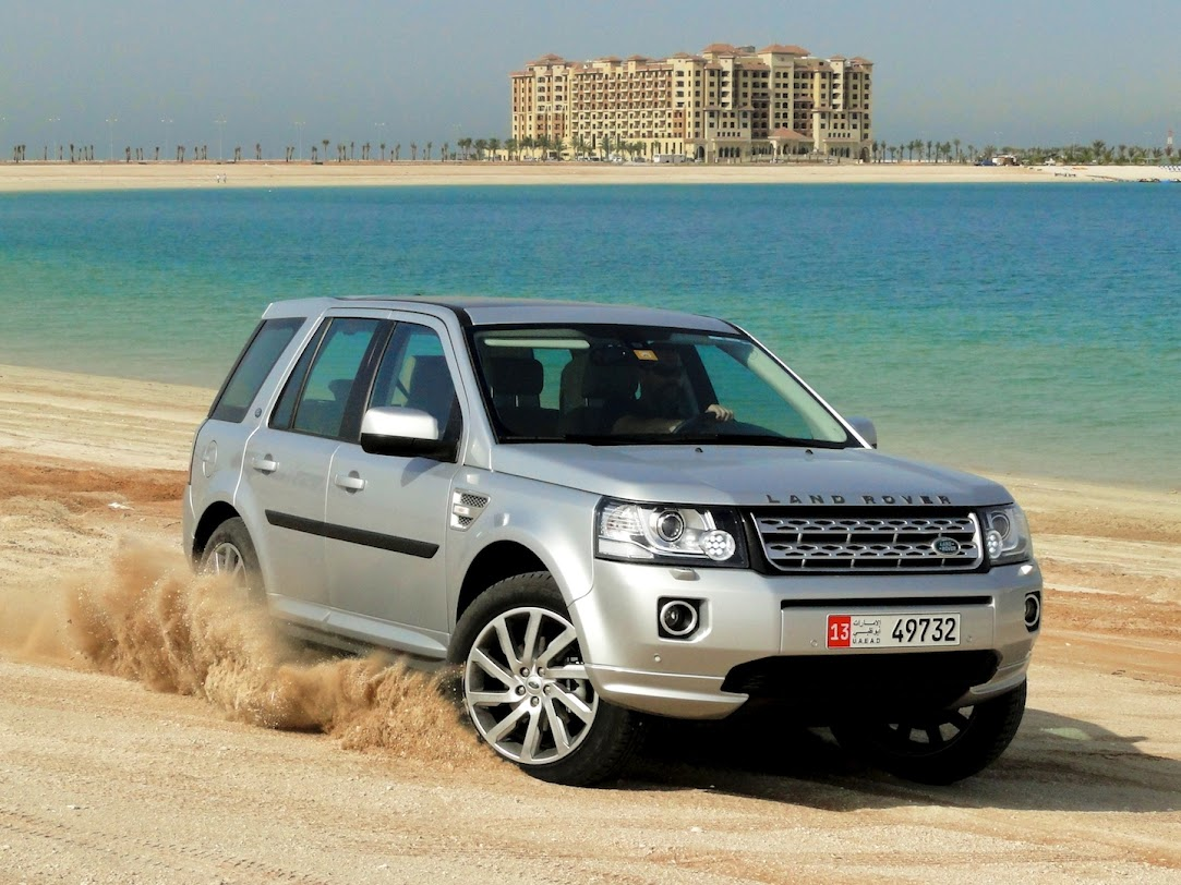 Land Rover LR2 at Marjan Island Resort & Spa in Ras Al Khaimah