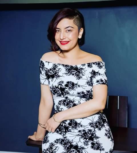 K24 TV news anchor Anjlee Gadhvi Noorani does. PHOTO | BMS