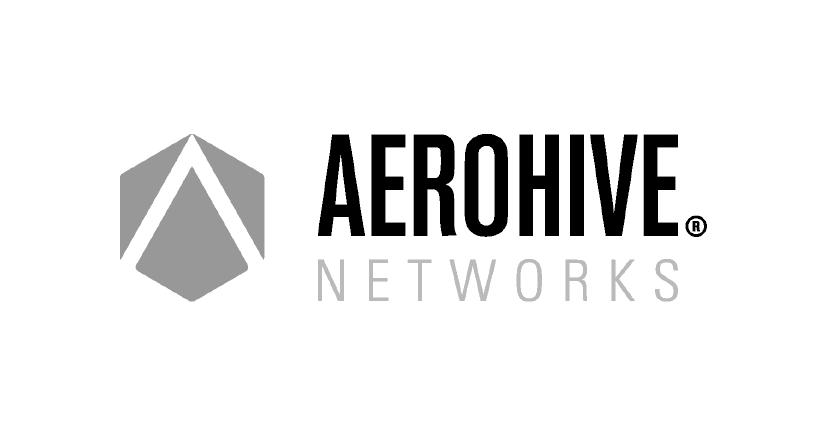 Lantech - Aerohive logo zw