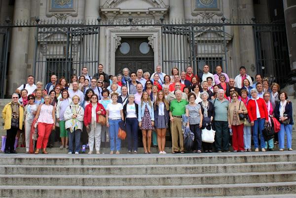 Grupo en la Catedral de Berlin