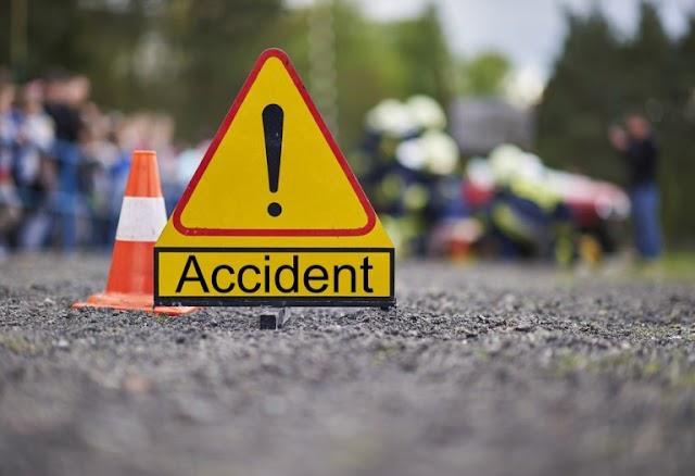 वाहन की चपेट में आने से एक युवक की घटनास्थल पर मौत, दुसरा पटना रेफर