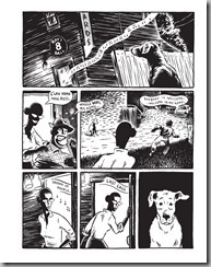 Good Dog By Graham Chaffee 2013 June FantaGraphics ivan listening Music