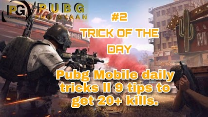 Trick of the day #2 Pubg Mobile daily tricks ll 9 tips to get 20+ kills.