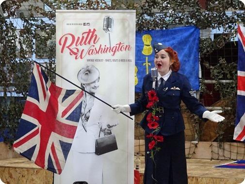 Vintage vocalist Ruth   Washington