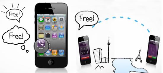 viber free calls sms