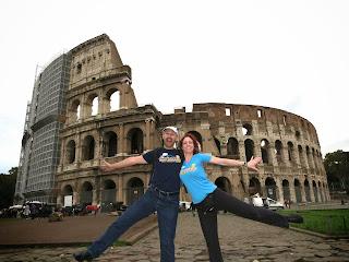Brazen in Rome Italy
