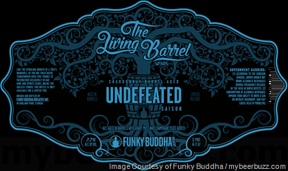Funky Buddha Living Barrel Undefeated