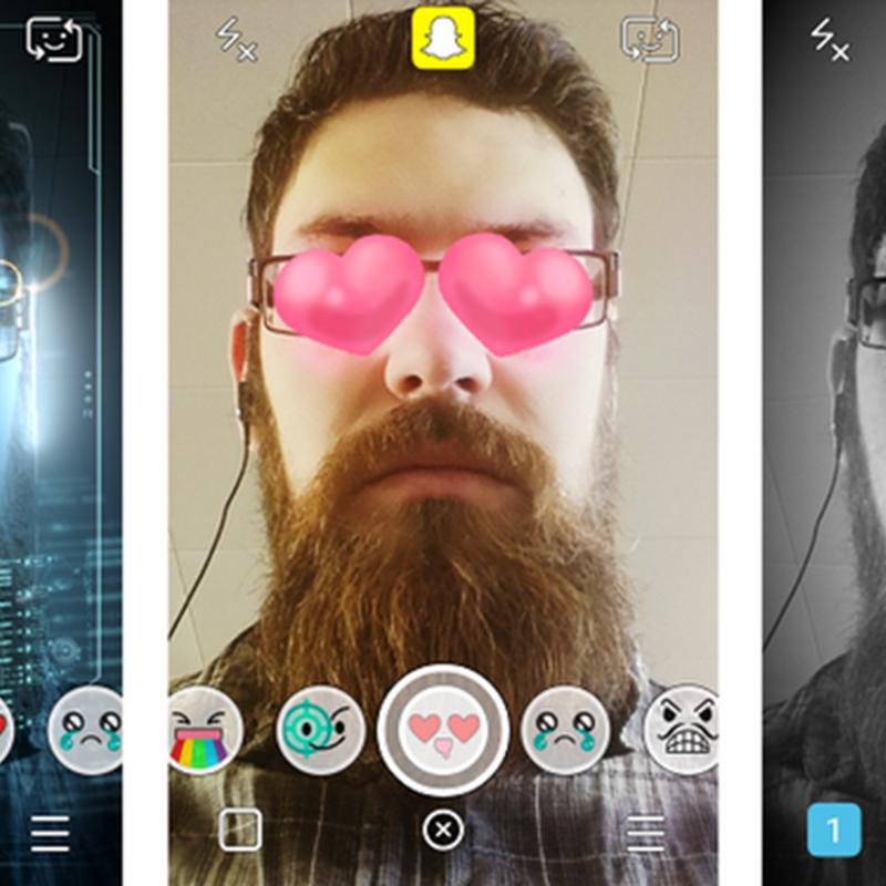 Cómo funcionan los filtros de Snapchat
