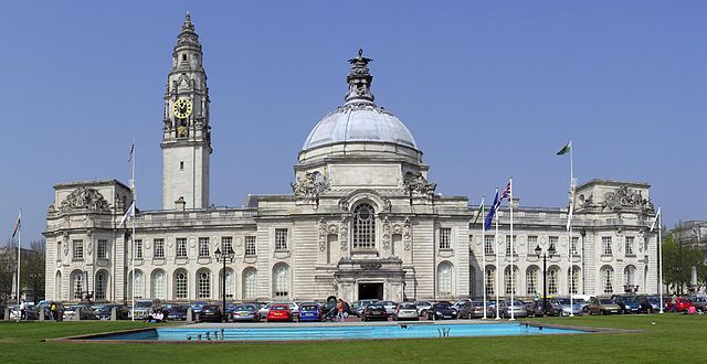 City Hall of Cardiff