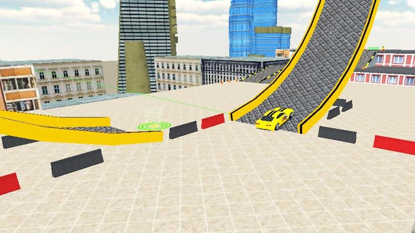 android Rooftop Car Stunts Screenshot 5