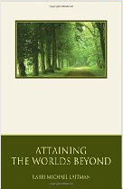 Cover of Rabbi Michael Laitman's Book Attaining The Worlds Beyond