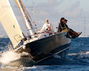J105 Loki sailing Key West race