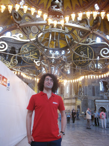 Kadir in the Hagia Sofia