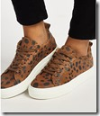 Pieces Paulina Leopard Print Sneakers