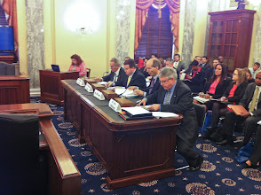 Photo: Chris Hurn is ready to give his testimony before the US Senate Committee on Small Business and Entrepreneurship www.504Experts.com