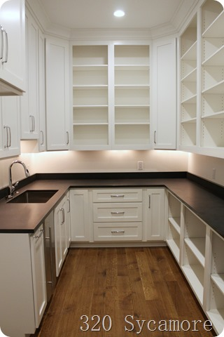 pantry with sink