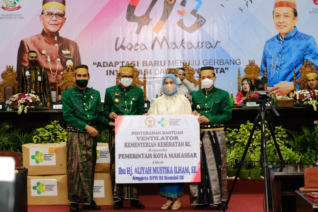 Sinergitas Pemprov dan Pemkot Peringati HUT Ke-413 Kota Makassar