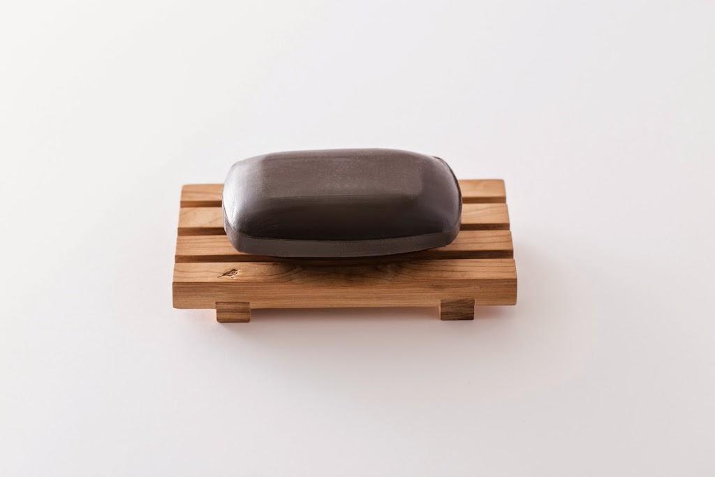 Compressed Hinoki Soap Dish Yue