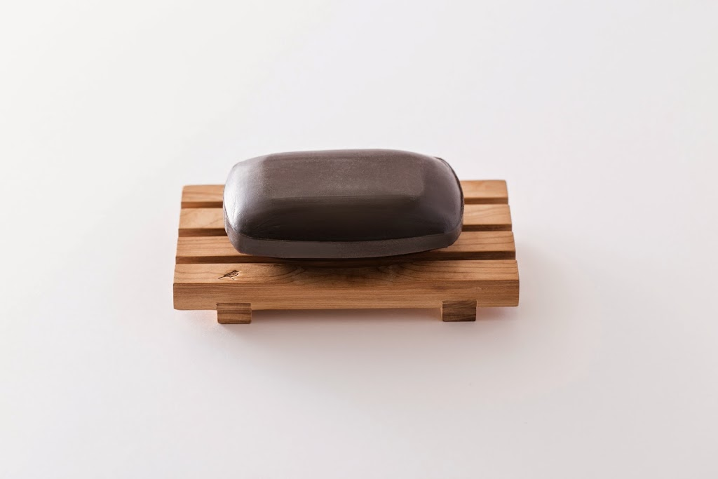 Compressed Hinoki Soap Dish Yue