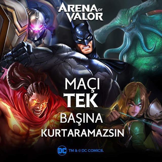 Arena of Valor Batman Birliği Etkinliği