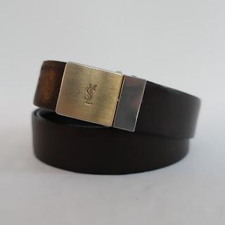 YSL Reversible Belt